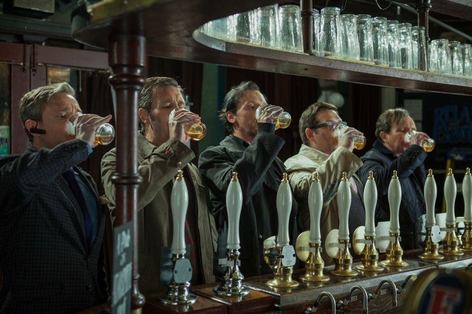 In <em>The World's End</em>, a Nostalgic Pub Crawl Goes Pear-Shaped