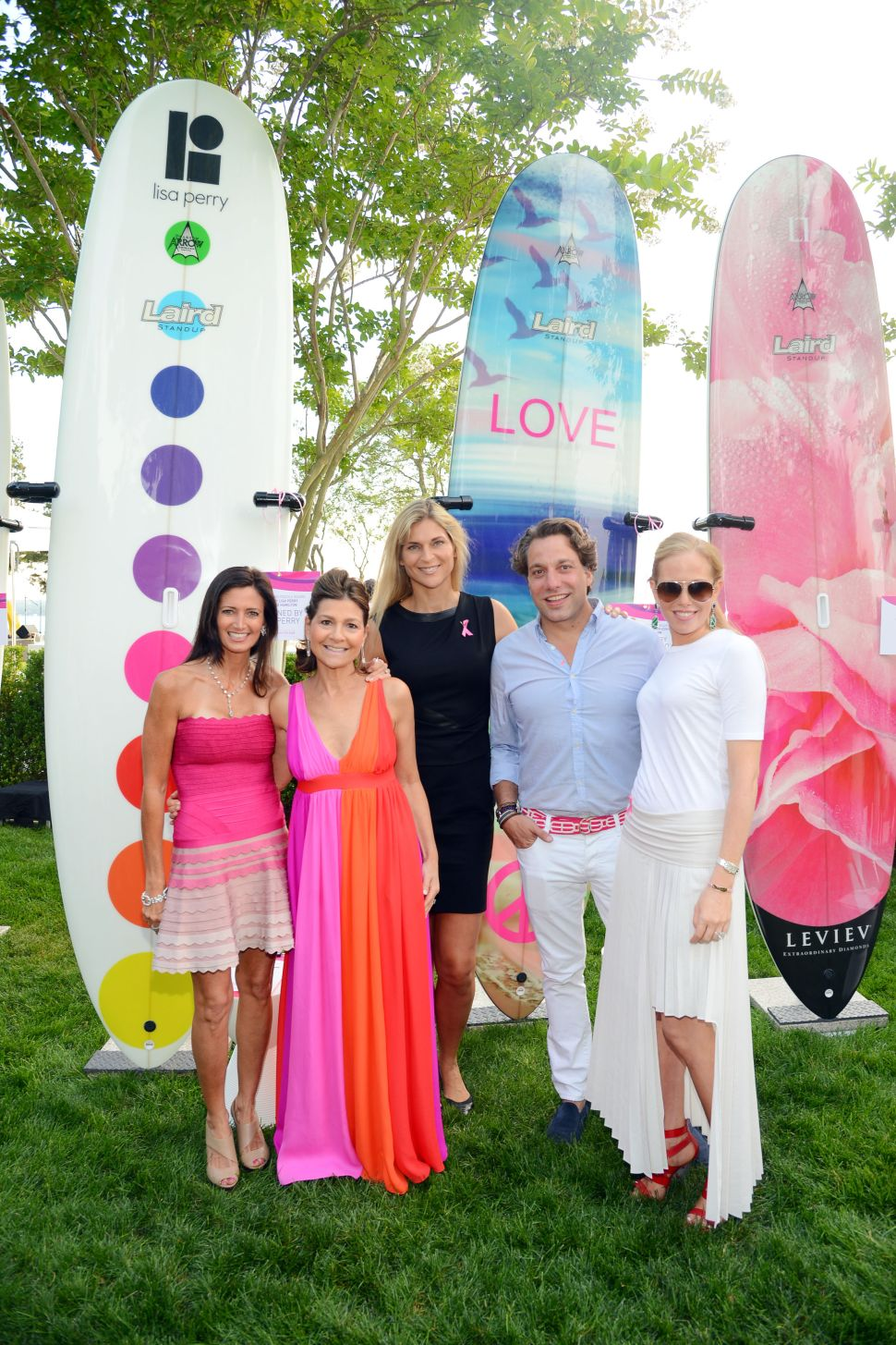 Pretty in Pink: Hamptons Paddle Party Brings Out the Breast and Brightest