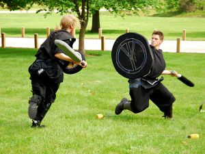 Missouri LARPers having what looks like a pretty good time, actually. (Photo: Evan-Amos, via Wikipedia)