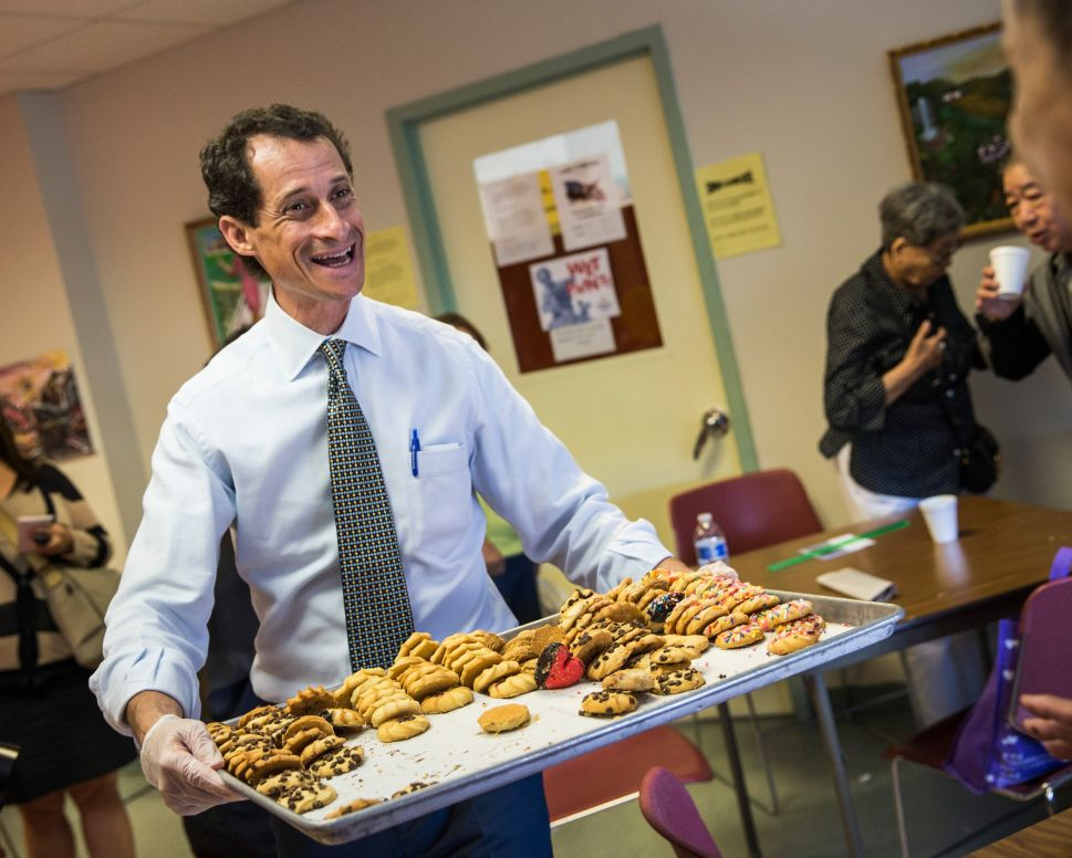 Anthony Weiner Unsuccessfully Tries to Shame Media Into Discussing Policy