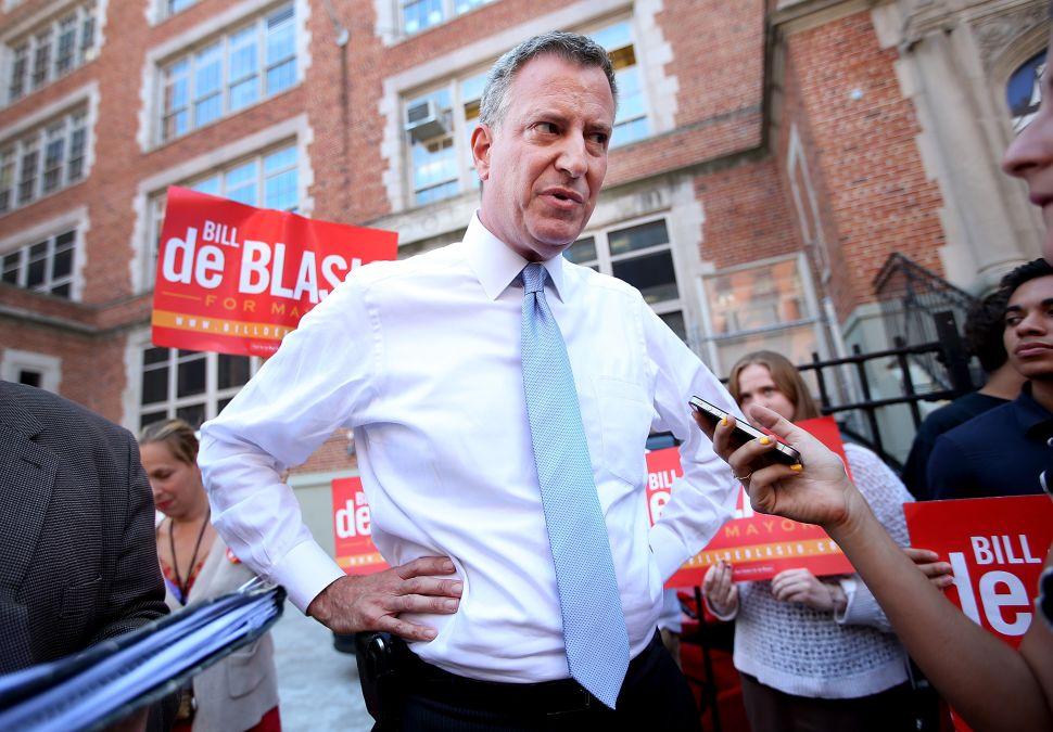 Bill de Blasio Insists He's Not Too Nice to Be Mayor