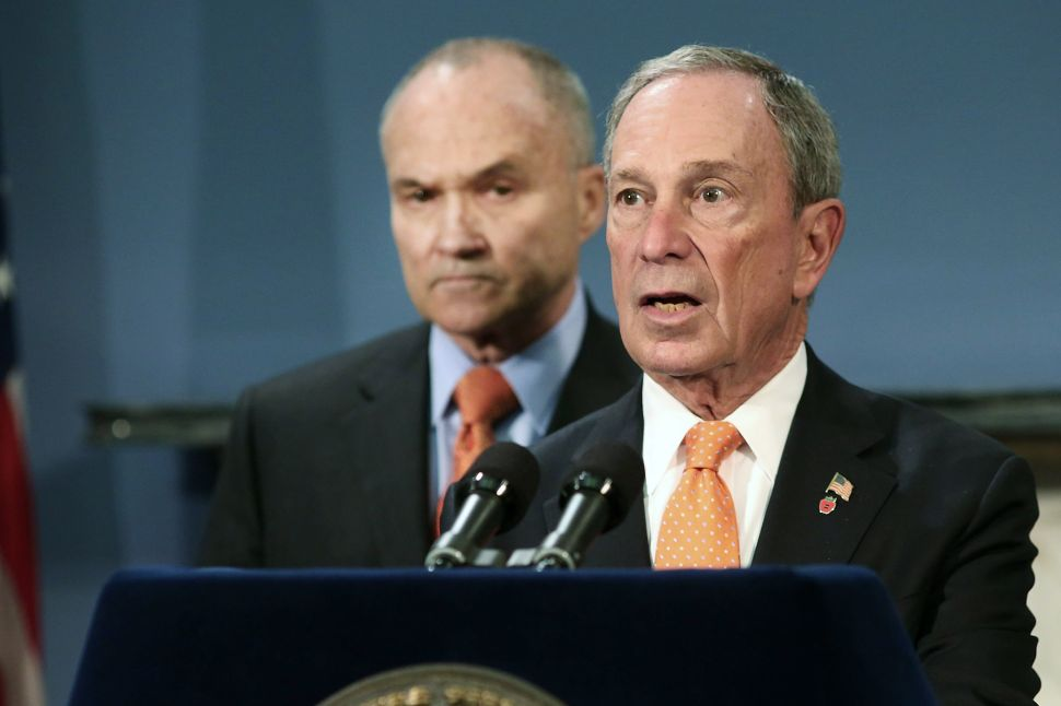 Bloomberg Touts Crime-Fighting at 'T-Minus 5' Days