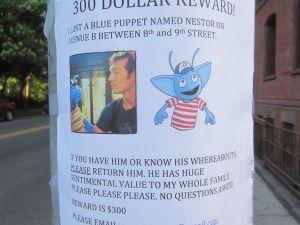 The reward poster. (Twitter)