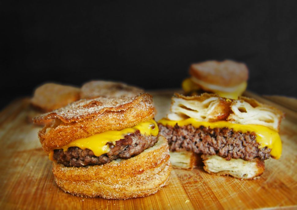 Food for Thought: Abominable Cronut Burger 'Leaves 12 With Food Poisoning'