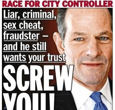 Some newspapers have strong feelings when it comes to Eliot Spitzer.