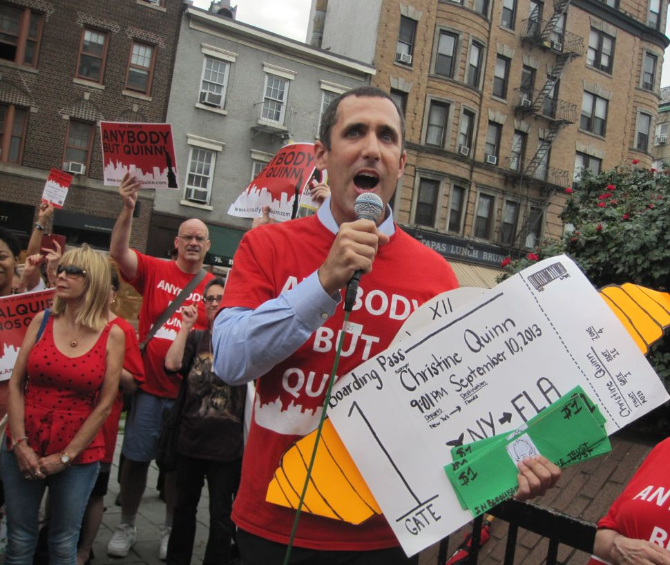 Anti-Quinn Organizers Shift Tactics in Mayoral Race's Final Stretch