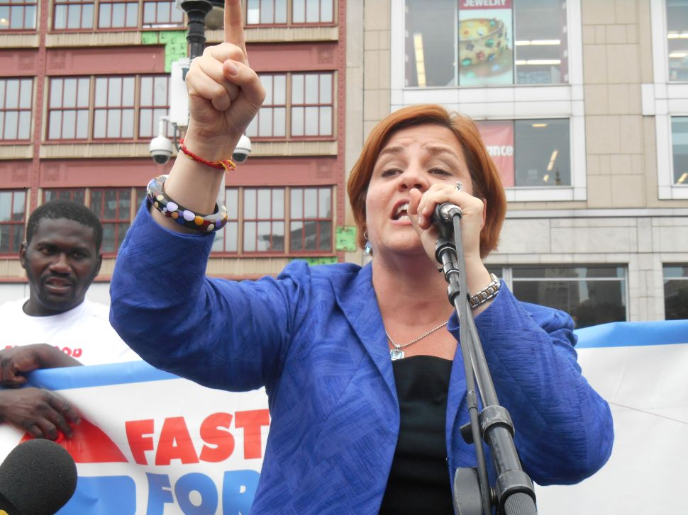 Christine Quinn Says Council Speakers Should Be 'Pro-LGBT and Pro-Choice'