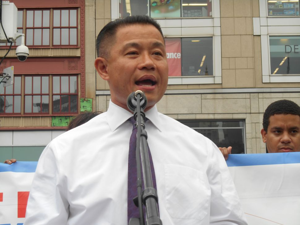 John Liu Campaigns Onward