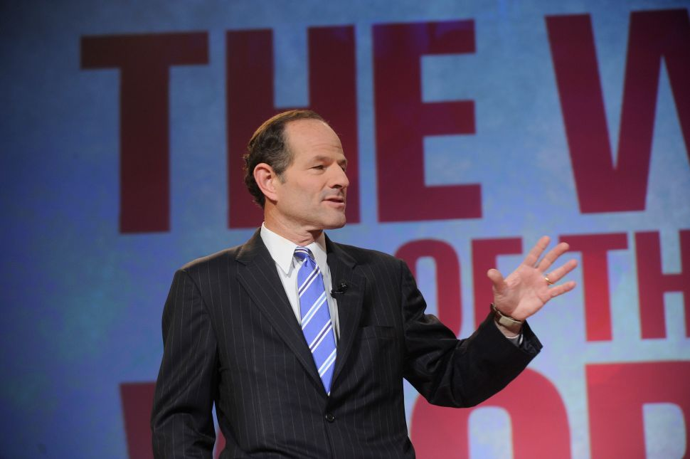 Eliot Spitzer Draws a Comparison to Martin Luther King, Jr.