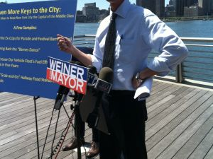 Mr. Weiner and his ideas.