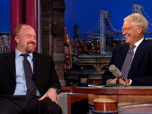 Louis C.K. on Late Show.