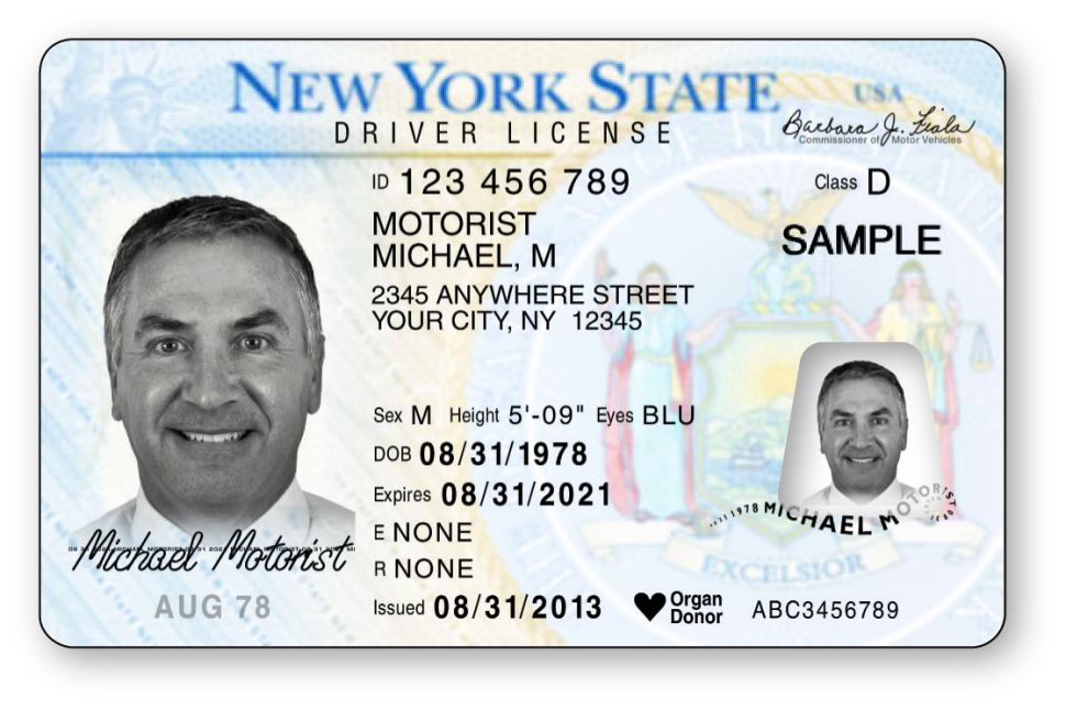 Bendy New York Driver's Licenses Killed by No-Fun DMV