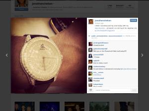 Sweet watch bro, mind if I take a look? (Photo: Instagram)