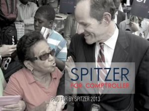 Eliot Spitzer's latest ad.