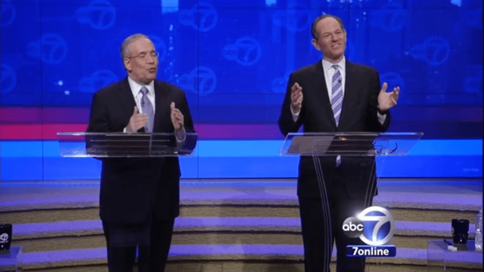 War of Words Emerges as Spitzer and Stringer Both Declare Debate Victory
