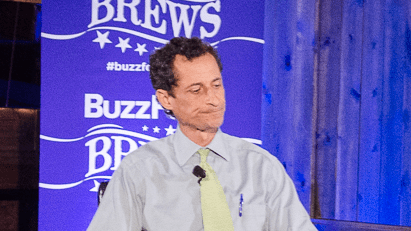 Anthony Weiner Goes After 'Policy Jihadists' and the Press in Barroom Interview