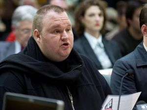 """Senator Dotcom, could you PLEASE stop grandstanding?"" (Photo credit should read Marty Melville/AFP/Getty Images)"