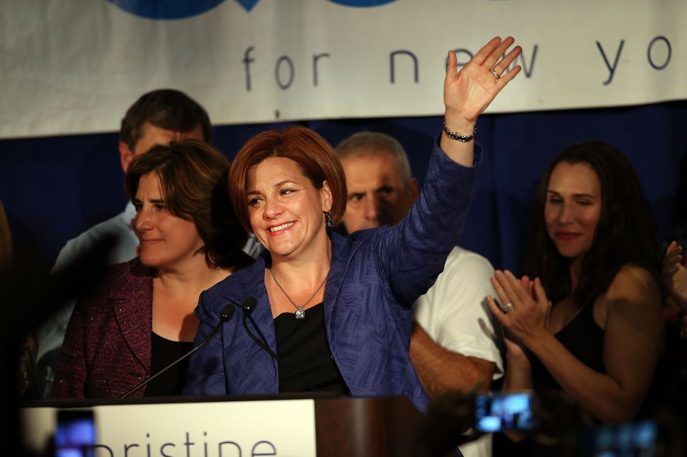 Christine Quinn Comes Out of Hiding, Calls Astorino, Cahill Campaigns 'Ghastly'