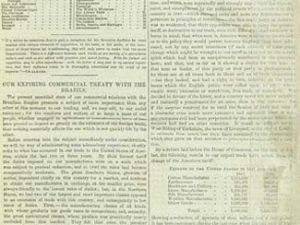 The first issue of The Economist, a newspaper. (The Economist)