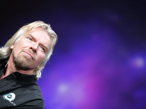 """""""Bitcoins in space you guys"""" - Richard Branson, probably (DON EMMERT/AFP/Getty Images)"""