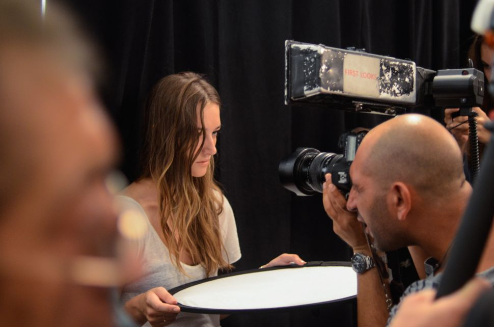 Fashion Week Observed: Backstage at BCBG Max Azria