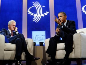 Bill Clinton and Barack Obama. (Photo: Getty)