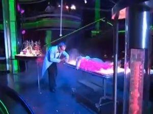 Bille Nye on <em>Dancing With the Stars</em>.