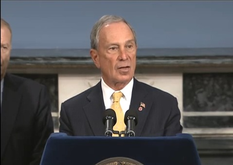 Mayor Bloomberg Unveils Gun Site Investigation in Washington Shooting's Wake