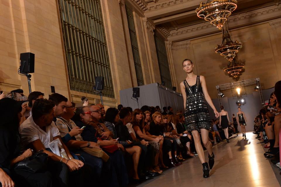 Diesel Black Gold SS14: A Standing-Room Schmuck Muses on Studs