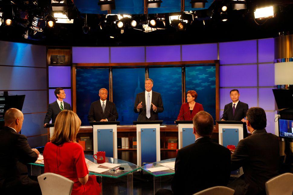 Final Polls Show Bill de Blasio Riding High