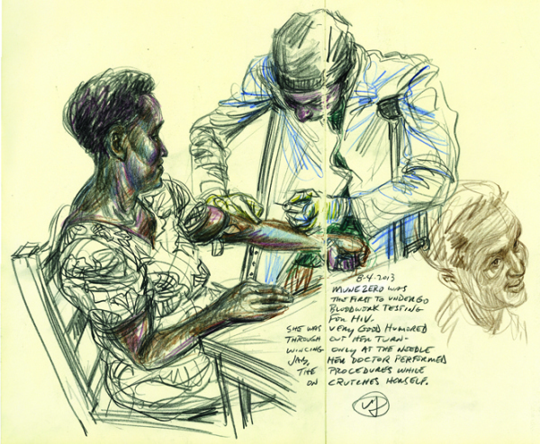 The Survival Sketchbook: Nearly 20 Years After the Genocide, Illustrator Victor Juhasz Travels  to Rwanda