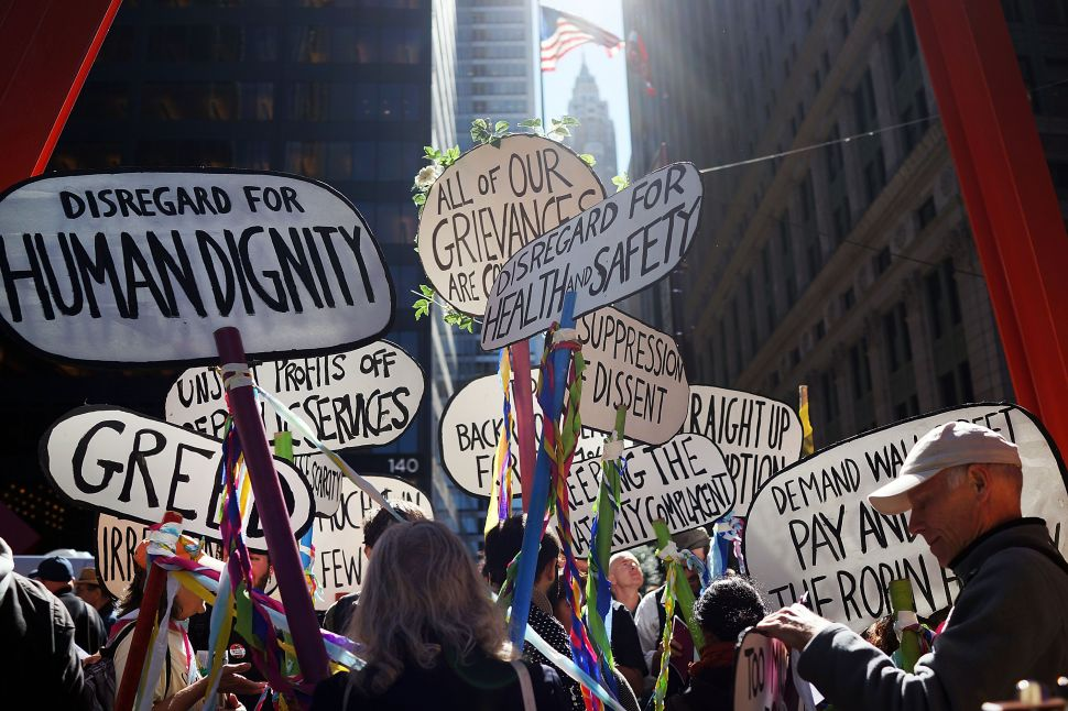 Occupy What Street? OWS Protesters Scarce on Two-Year Anniversary