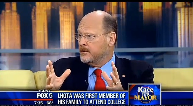 Joe Lhota on Bill de Blasio's Strategy: 'Directly Out of the Marxist Playbook'