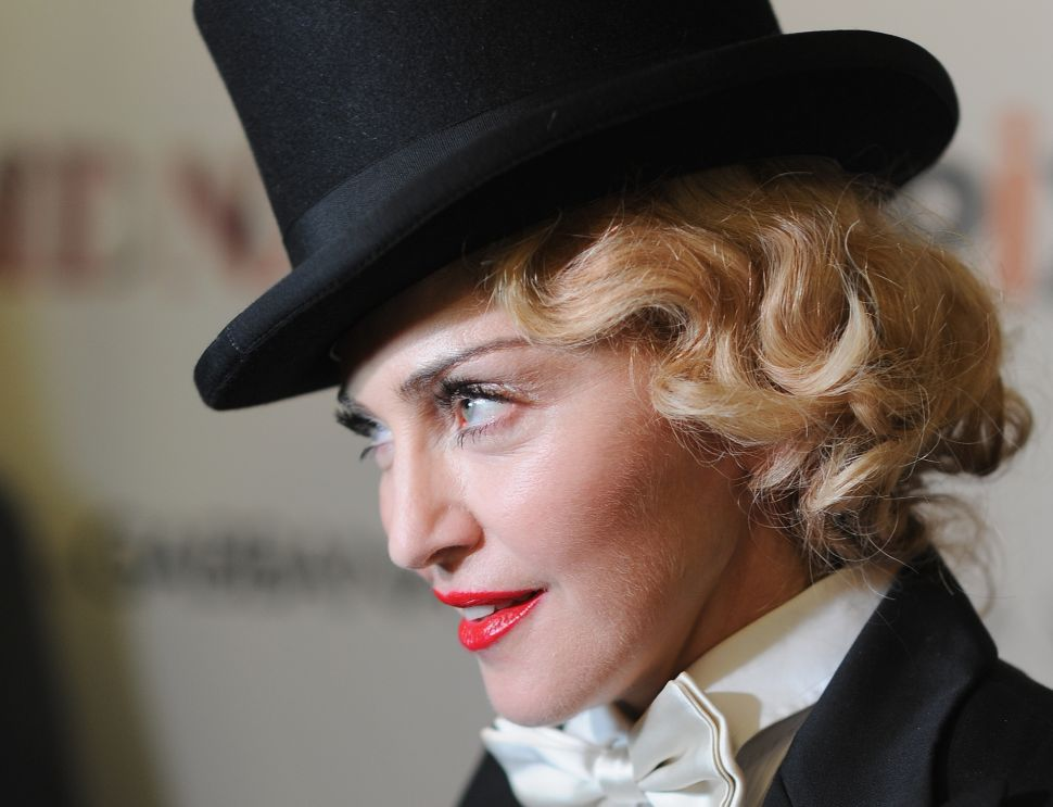 Madonna Will Use BitTorrent For… Something