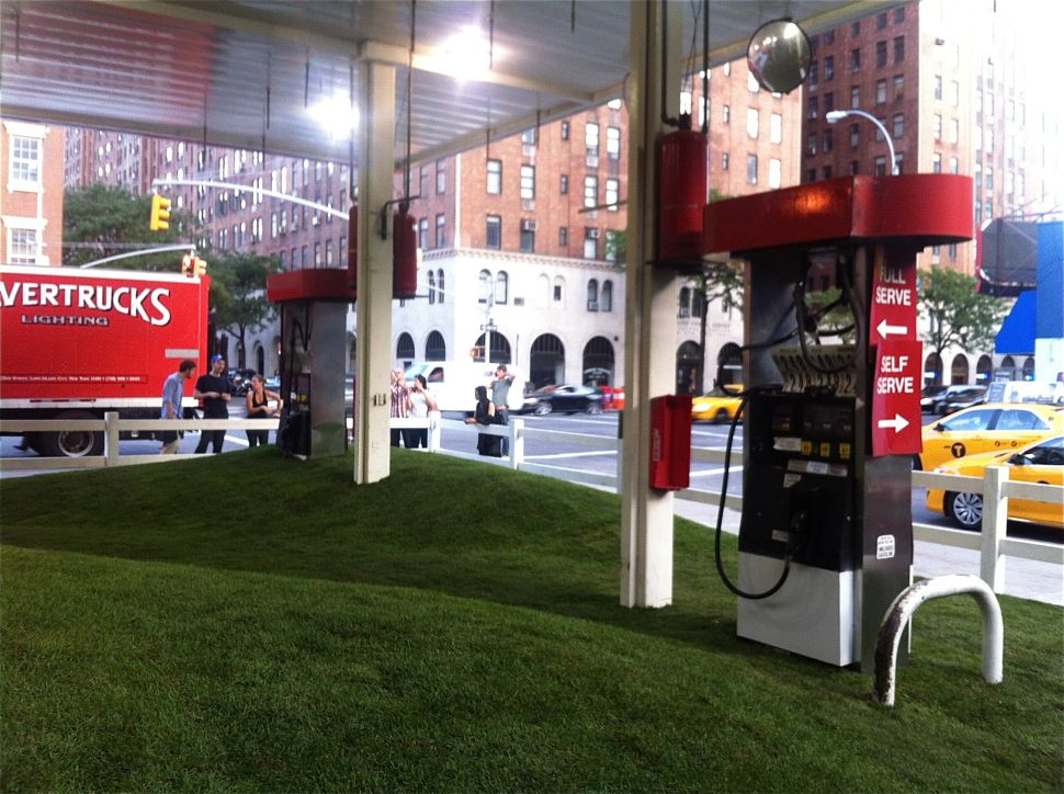 Do Art Collectors Dream of Concrete Sheep? Gas Station Gives Way to Les Lalannes Meadow