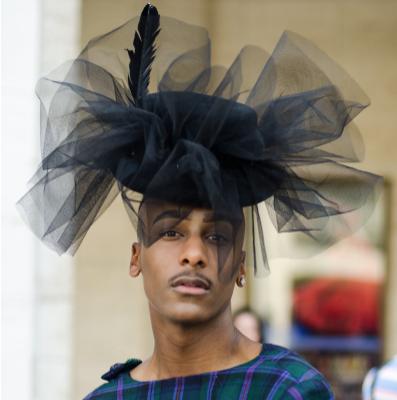 The Shady Bunch: Hats, Caps and Fascinators Shine at Fashion Week