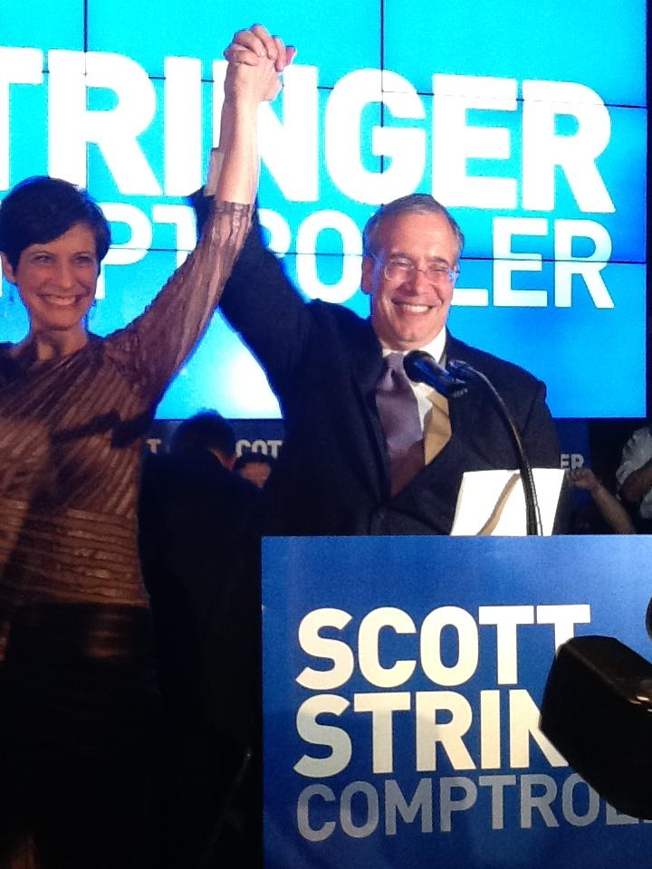 Scott Stringer Credits 'Integrity' in Win Over Eliot Spitzer