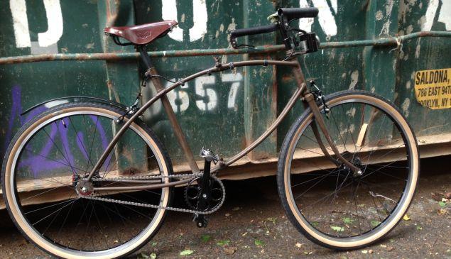 Bespoke Bicycles in Brooklyn builds custom bikes.