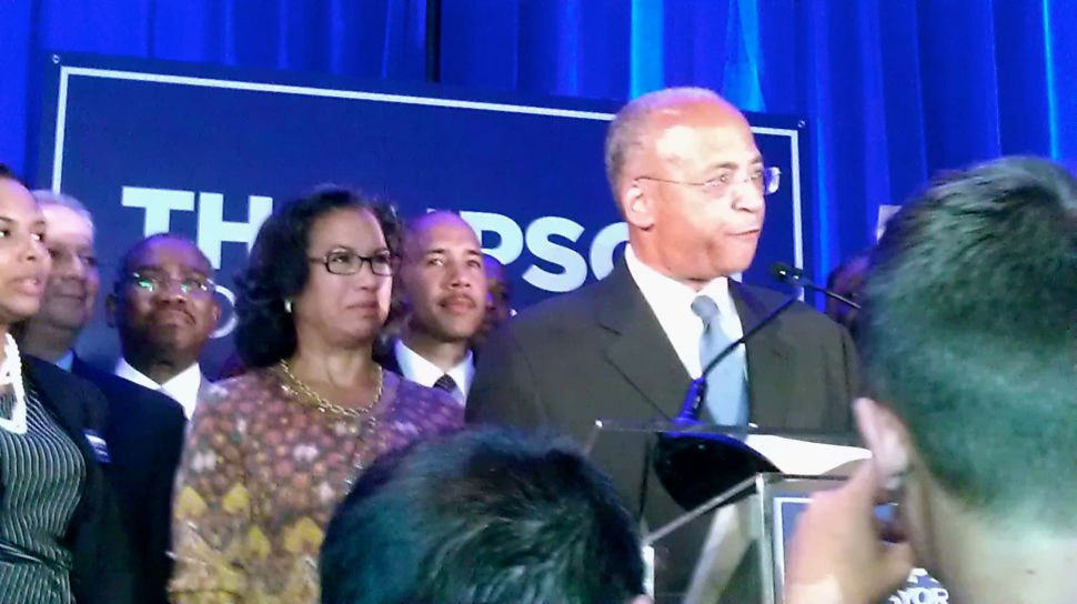 Bill Thompson's Fate in Limbo as Paper Ballots Wait