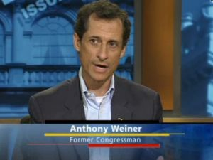 Anthony Weiner on NY1. (Photo: NY1)