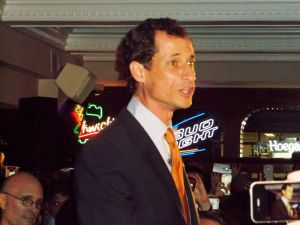 Anthony Weiner tonight.