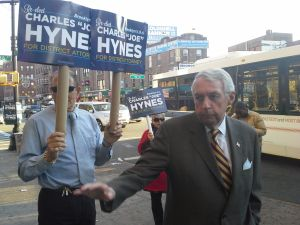 Charles Hynes this morning.