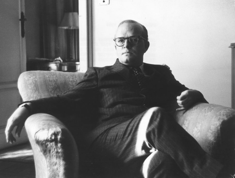 Who's Sleeping With the  Ghost Of  Truman Capote?