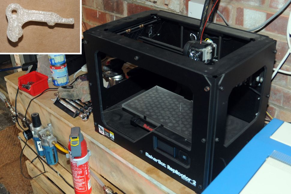 British Cops Seize 3D-Printed Gun, or Maybe Just 3D Printer Parts? They're Not Really Sure