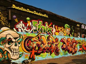 Some Halloween-themed 5Pointz handiwork. (flickr, Alan Houston)