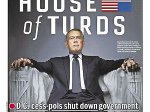 Daily News Government shutdown cover
