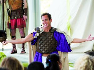 As a rule, purple robes are always funny.