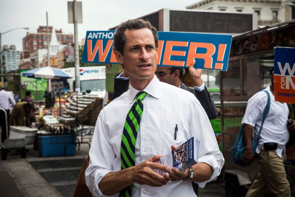 Anthony Weiner Hints of Another Comeback Attempt