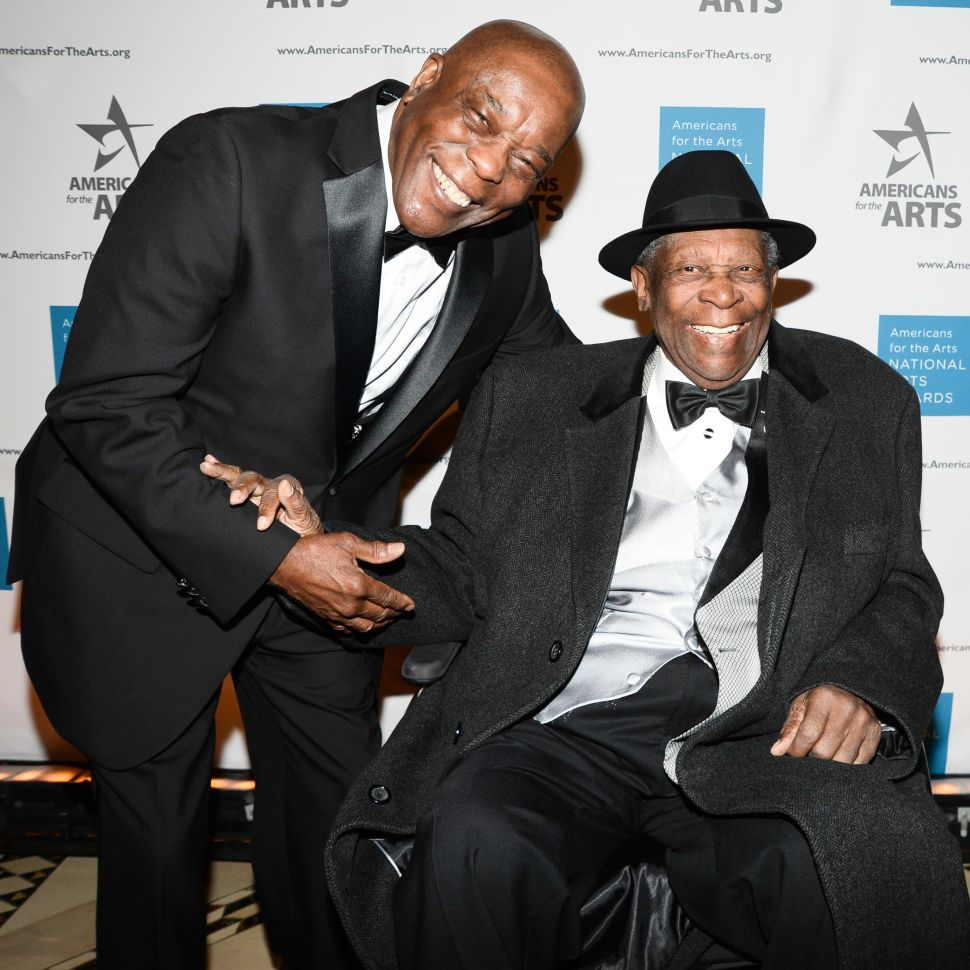 All Hail B.B. King! Blues Legend Steals the Art World's Thunder at Americans for the Arts Gala