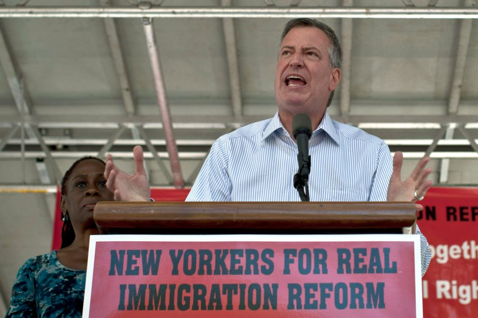 De Blasio: Municipal I.D.'s Will Force Congress' Hand on Immigration
